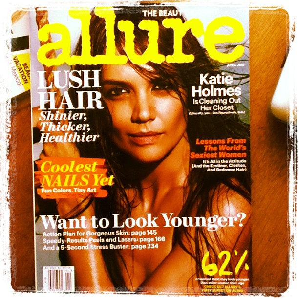 Allure April 2013 Cover