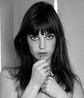 Above the eye Jane Birkin Bang