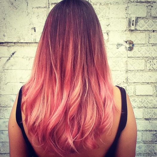Rose Gold Ombre by Kristin Jackson