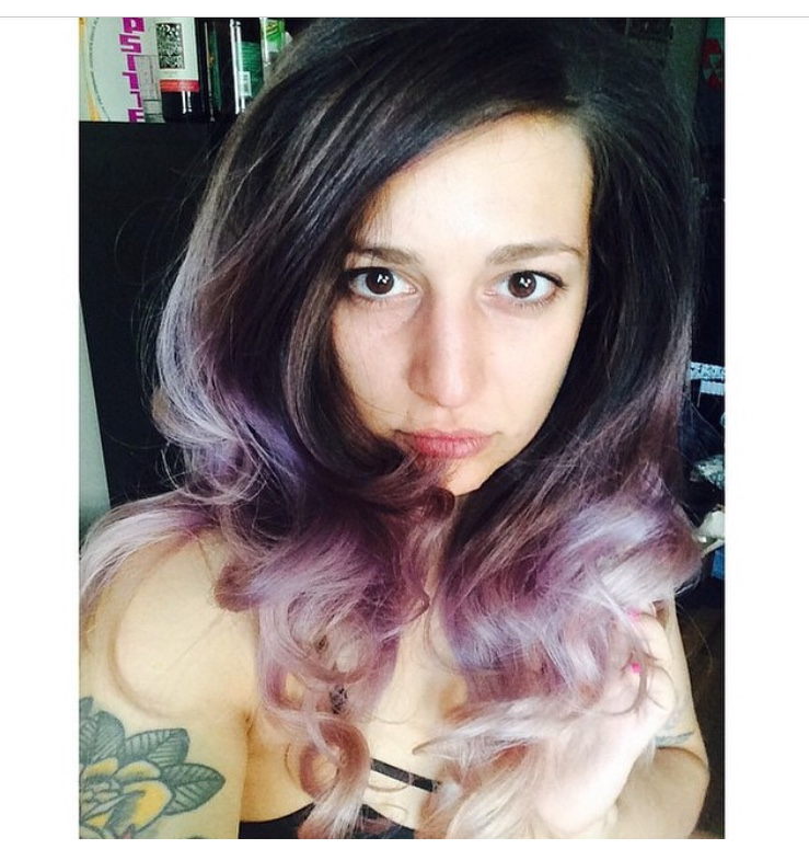 Cut and Color by Kristin Jackson Lavender Ombre