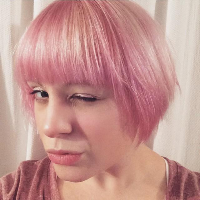 Wink Wink Pretty in Pink