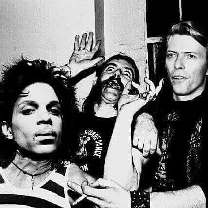 Prince, Bowie and Lemmy
