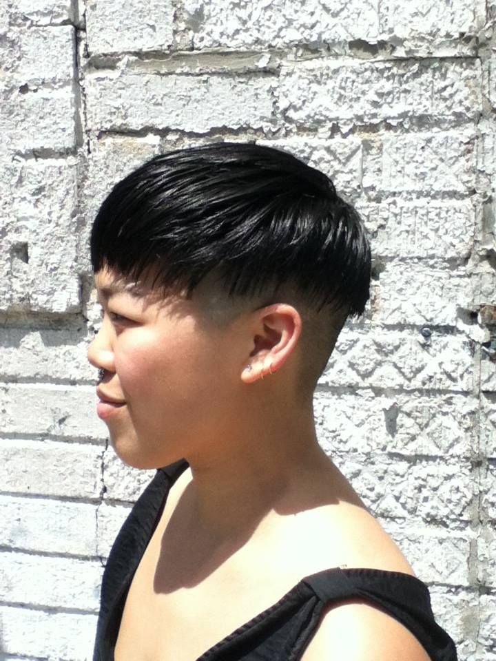 Donna Rae did this super stylized undercut. Donna excels at short cuts and i available Friday-Mondays
