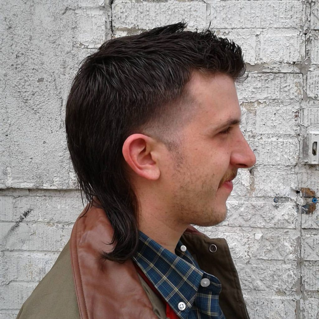 mens hair cut mullet