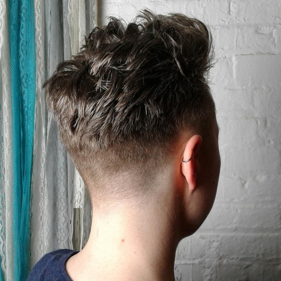 Barber cut
