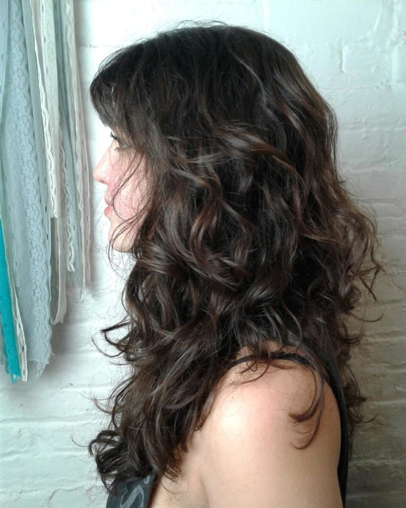 Long Beachy Waves