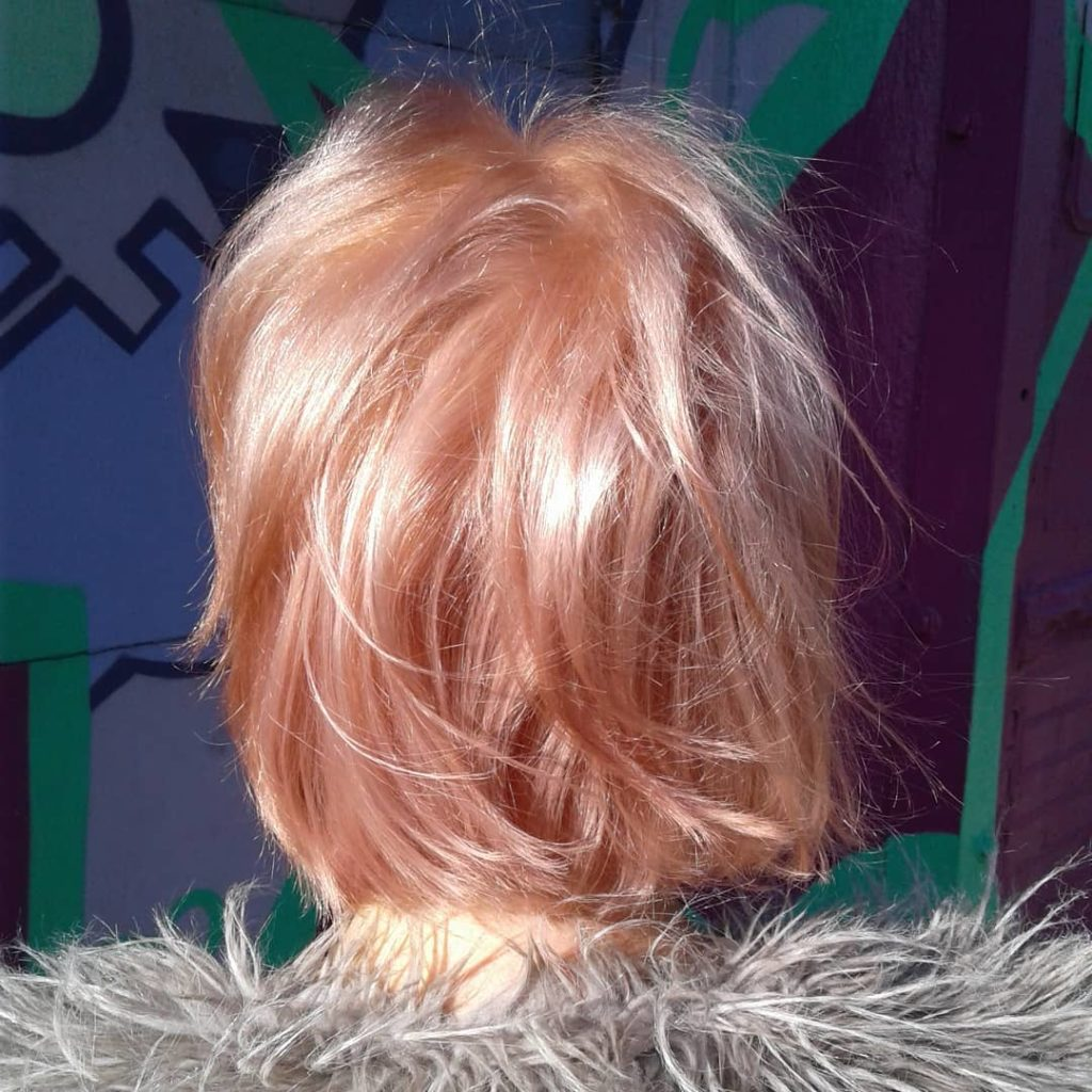 Rosegold double process